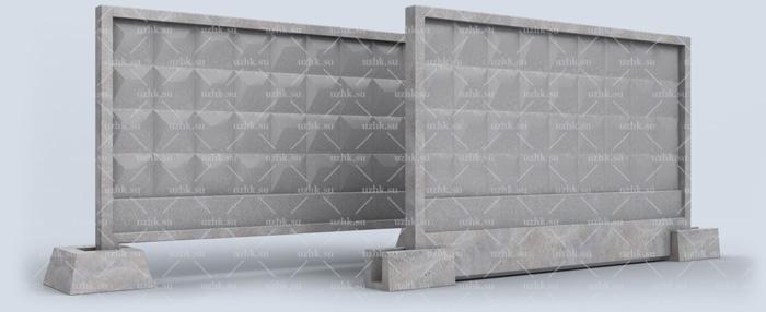 Забор ограждения железобетонные жби блоки для погреба